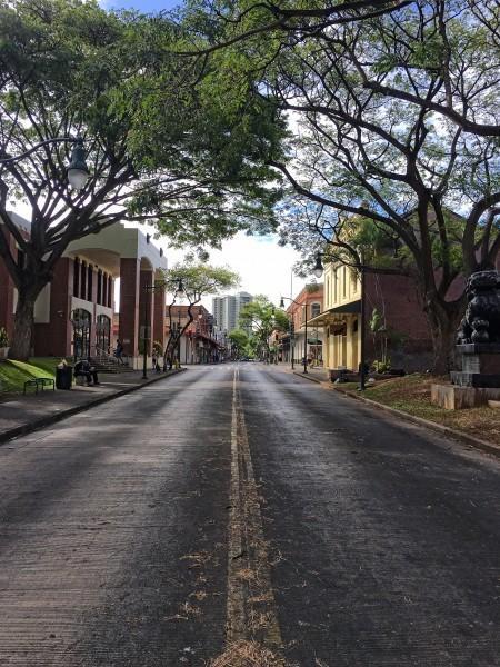 Looking Down Hotel Street