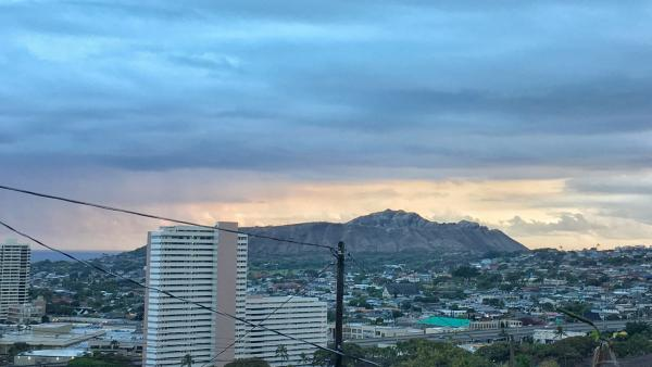 A view of Diamond Head You Normally Don't See